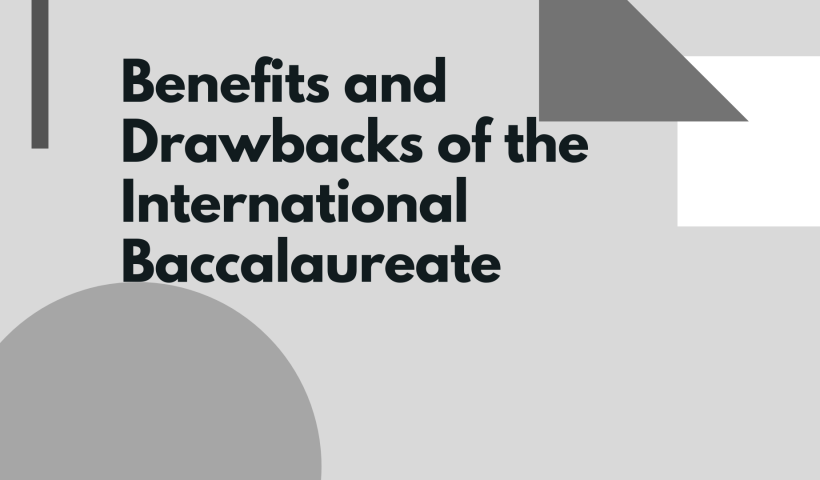 Benefits and Drawbacks of the International Baccalaureate