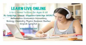 tutopiya-online-tuition-poster-of-student-learning-through-online-tuition-while-writing-on-notepad