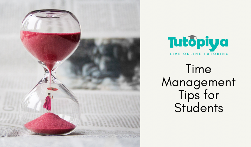 time management tips for student