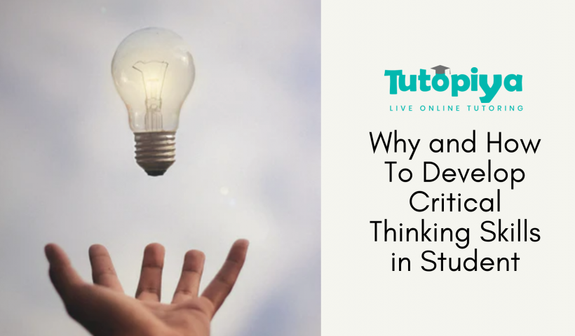 develop critical thinking