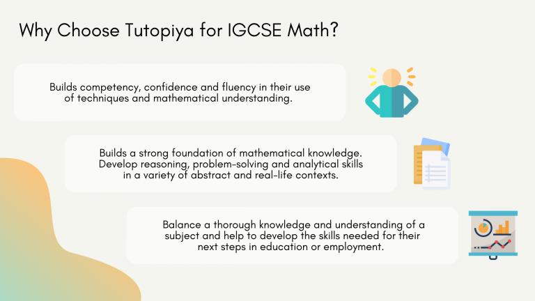IGCSE Math Syllabus